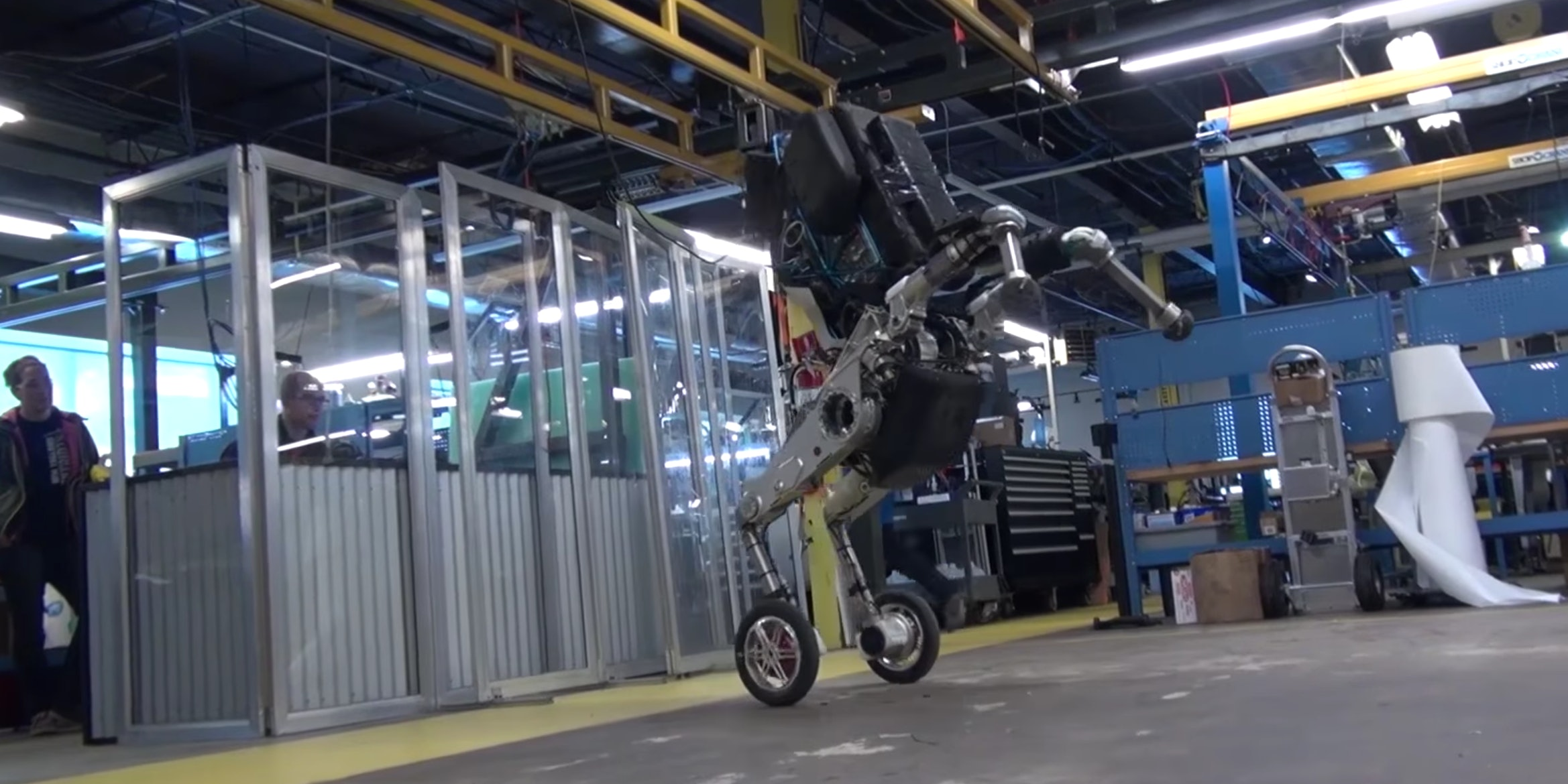 Boston Dynamics Releases Video of Its 'Nightmare-Inducing' Robot