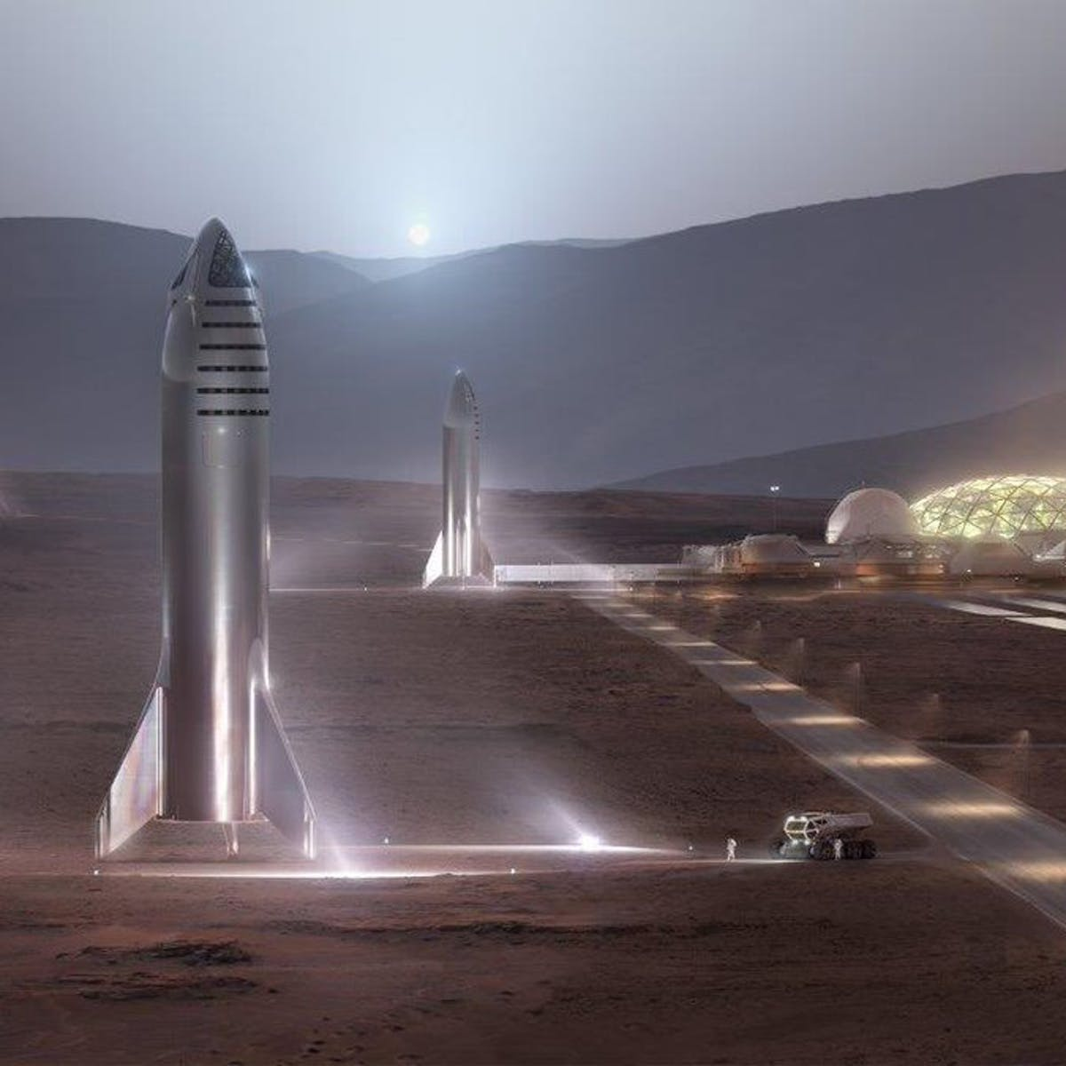 SpaceX Starship: Elon Musk teases 100-person cargo bay destined for Mars