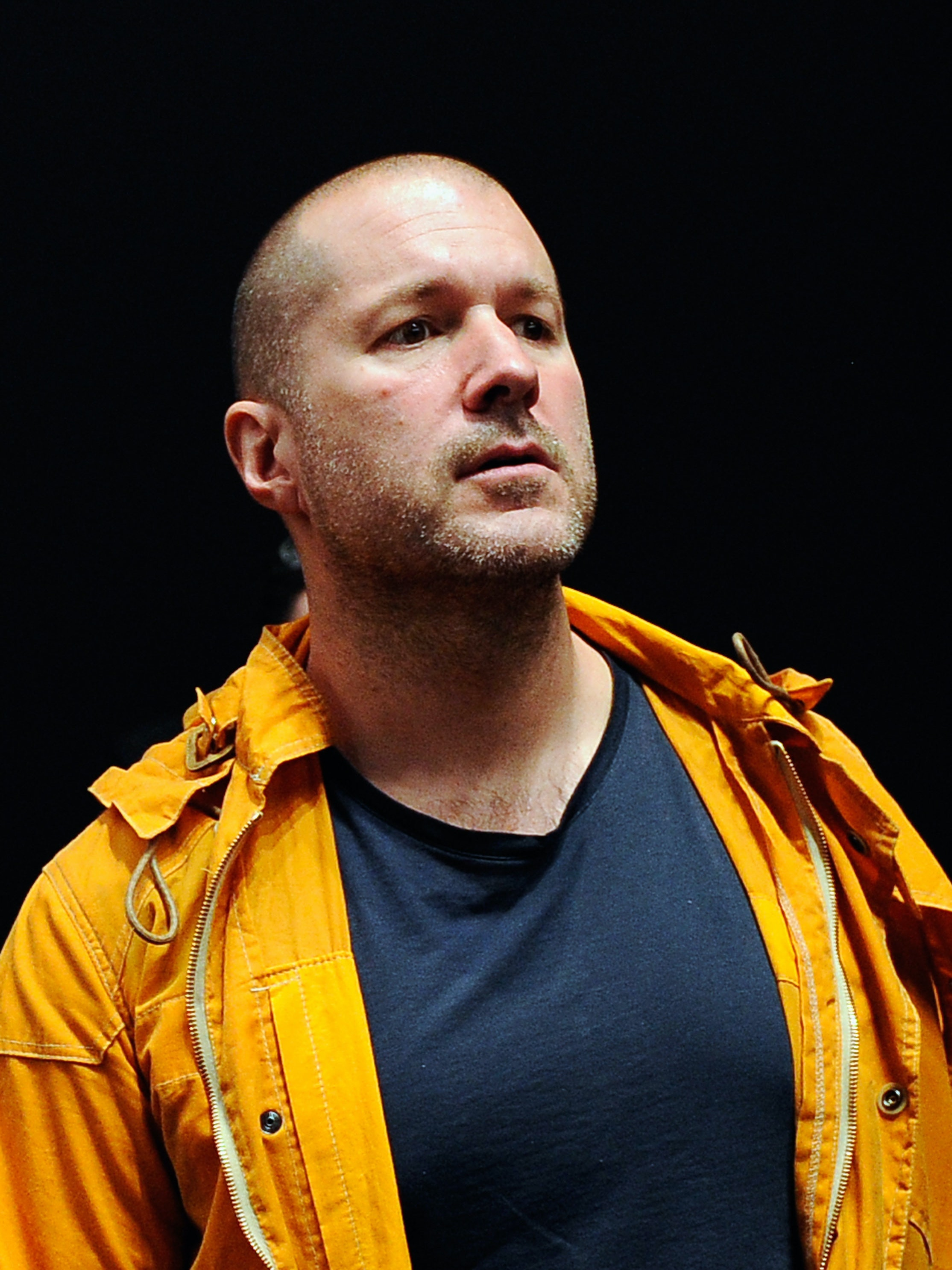 SAN FRANCISCO, CA - MARCH 07:  Senior vice president of industrial design for Apple Inc., Jonathan Ive, during an Apple product launch event at Yerba Buena Center for the Arts on March 7, 2012 in San Francisco, California. In the first product release following the death of Steve Jobs, Apple Inc. introduced the third version of the iPad and an updated Apple TV.  (Photo by Kevork Djansezian/Getty Images)