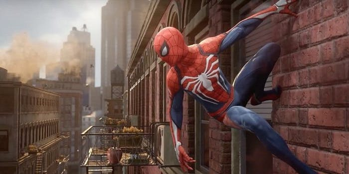 spider-man ps4 video game livestream gameplay open world