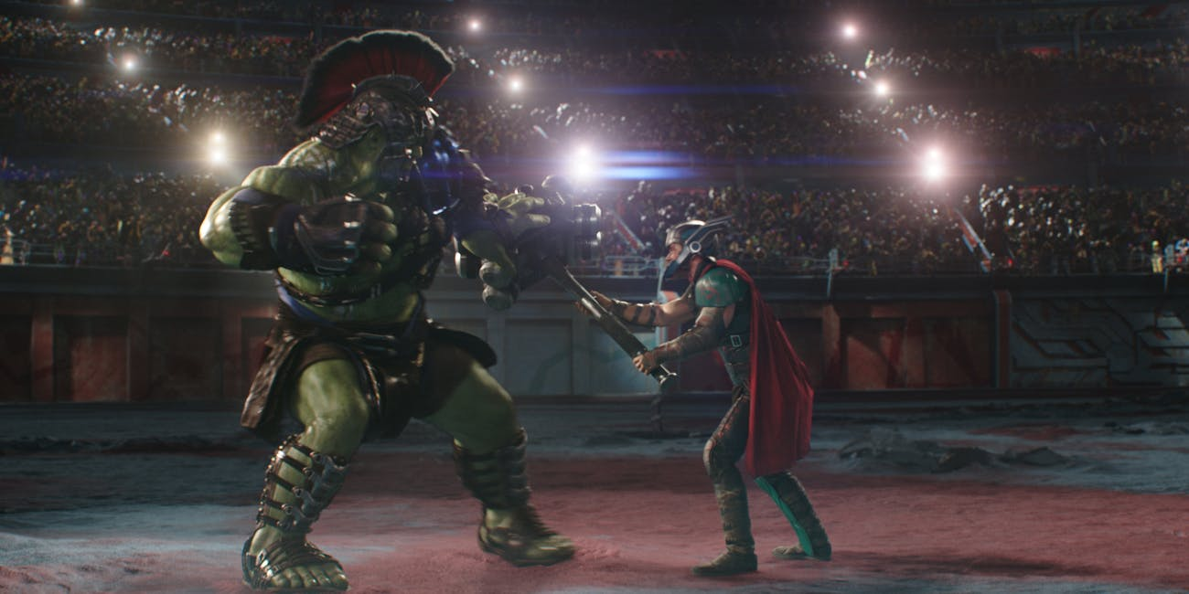 How 'Thor: Ragnarok' VFX Pulled Off Hulk's Gladiator Fight