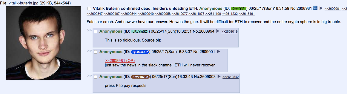A Strange 4Chan Hoax Just Disrupted Ethereum's Future | Inverse