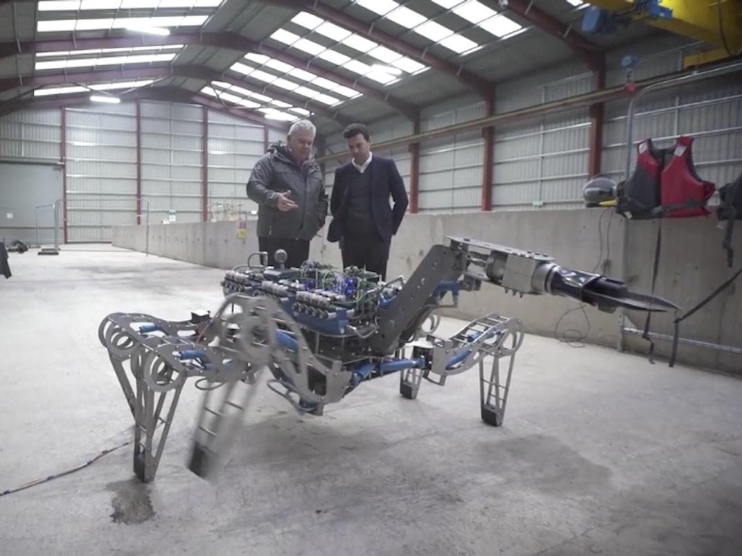 Forth engineering robot