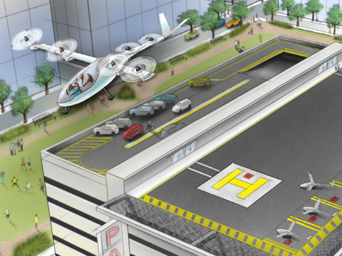 Uber Just Launched Its Flying Car Ridesharing Vision