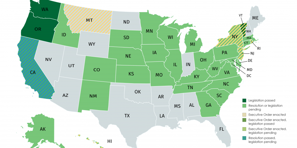 Show Me The State Map.Net Neutrality Maps Show Which States Are Fighting The Fcc Repeal