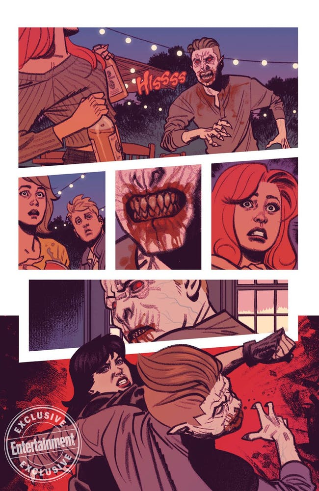 Page from 'Vampironica' issue.