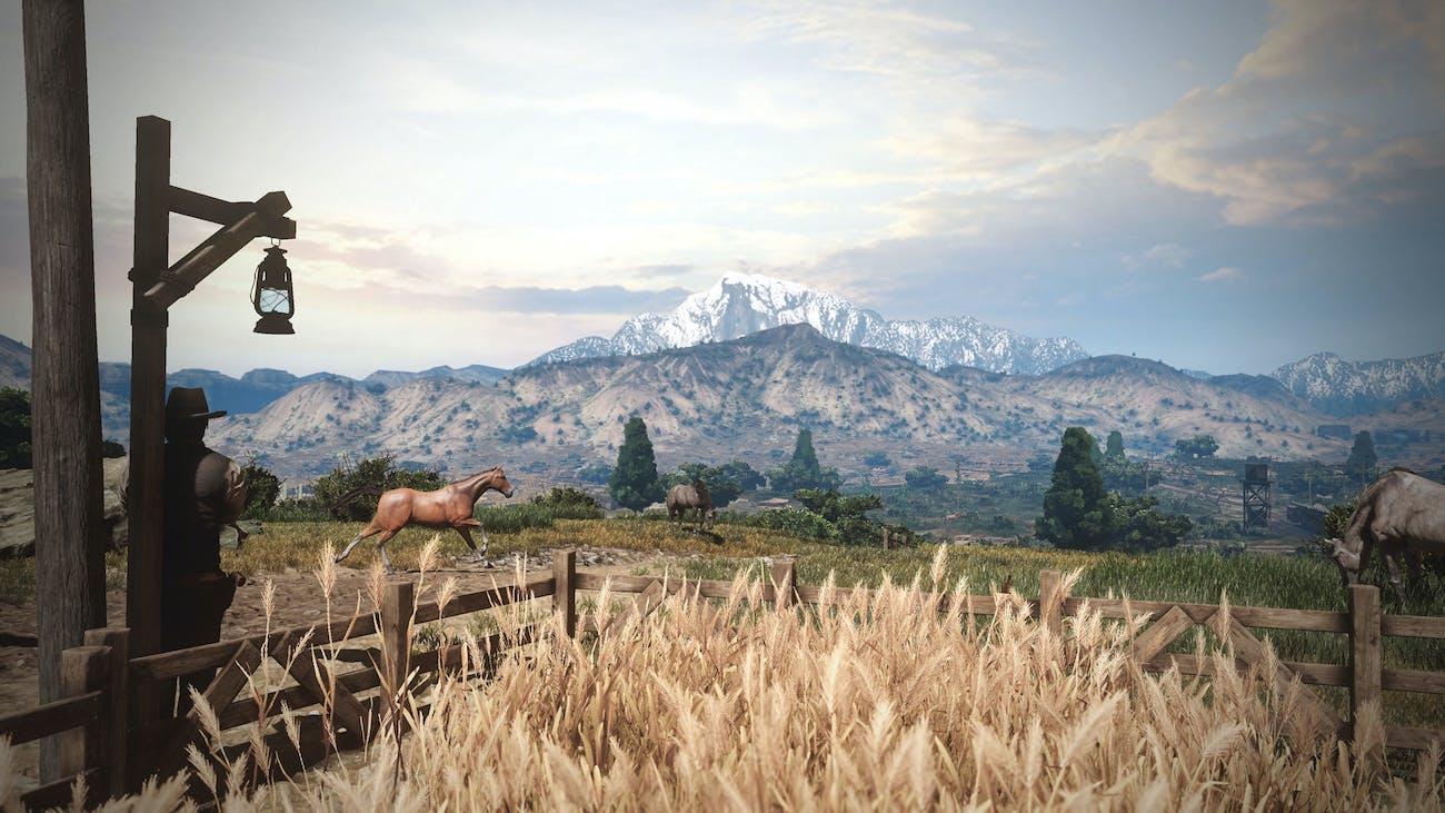 Wild West Online Horse Cowboy