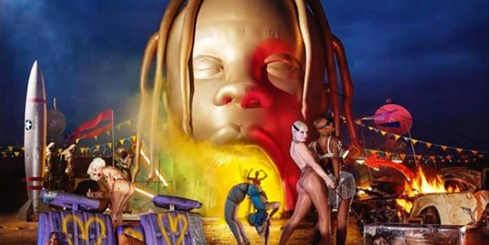 Astroworld album cover.