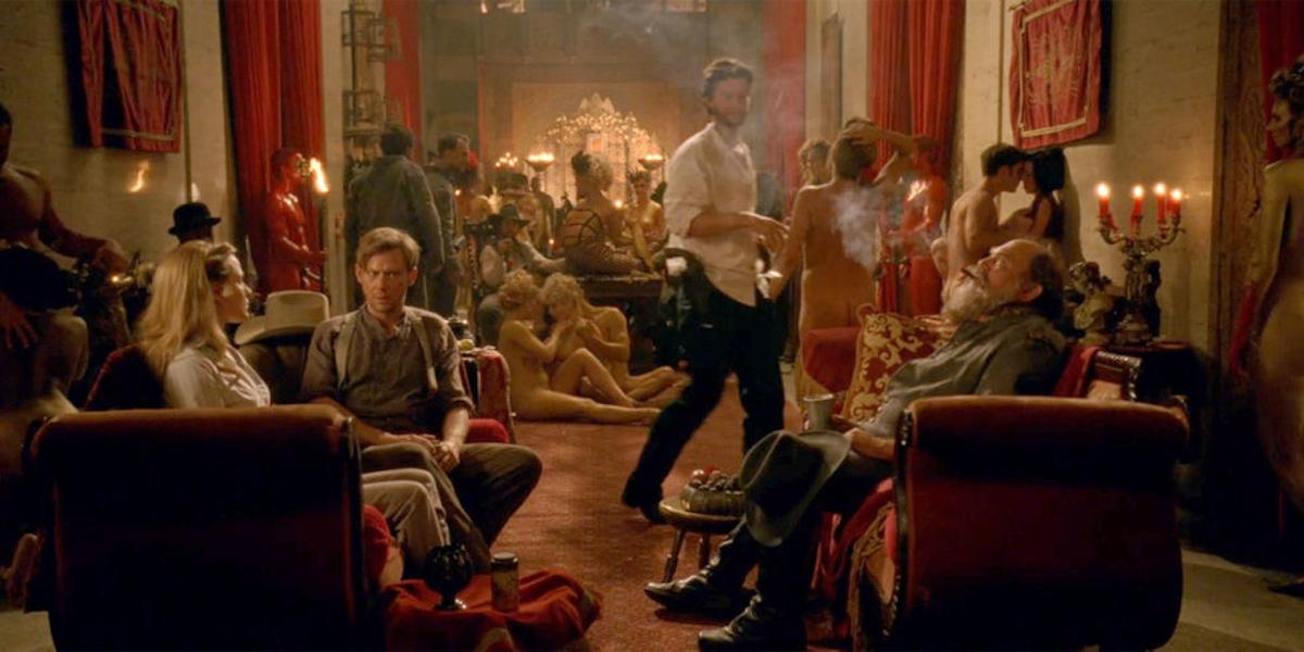 video Hbo orgy scene