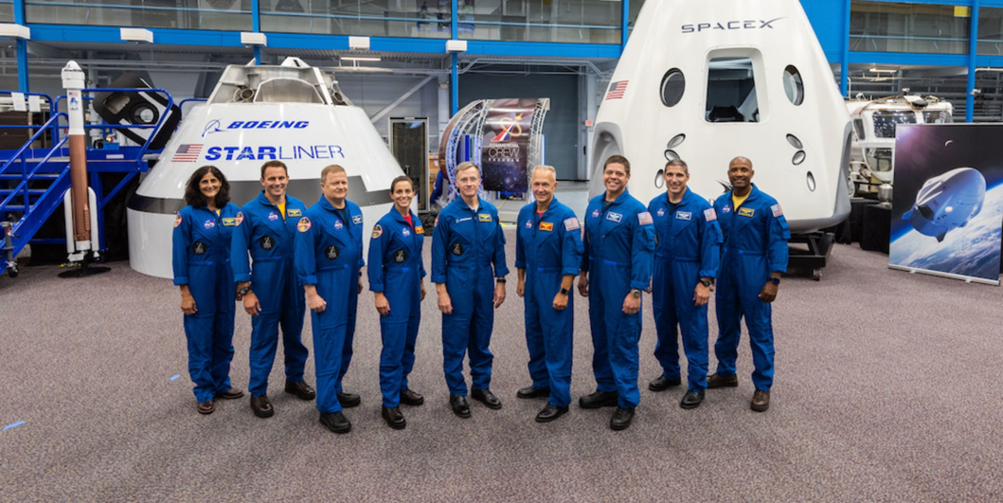 NASA First Commericial Crew