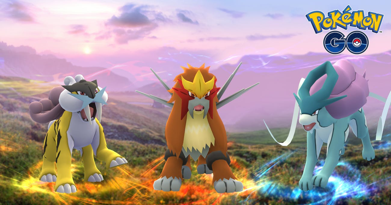 Raikou, Entei, and Suicune were timed regional exclusives last year, but where are they now?