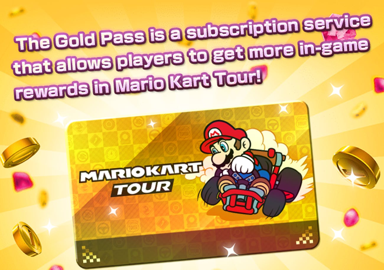 Mario kart tour gold pass