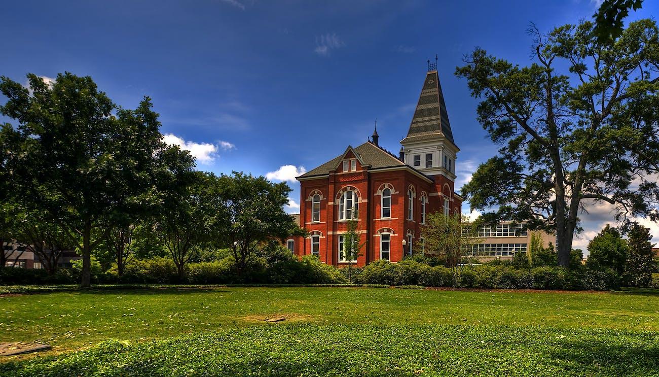 Auburn University campus HDR
