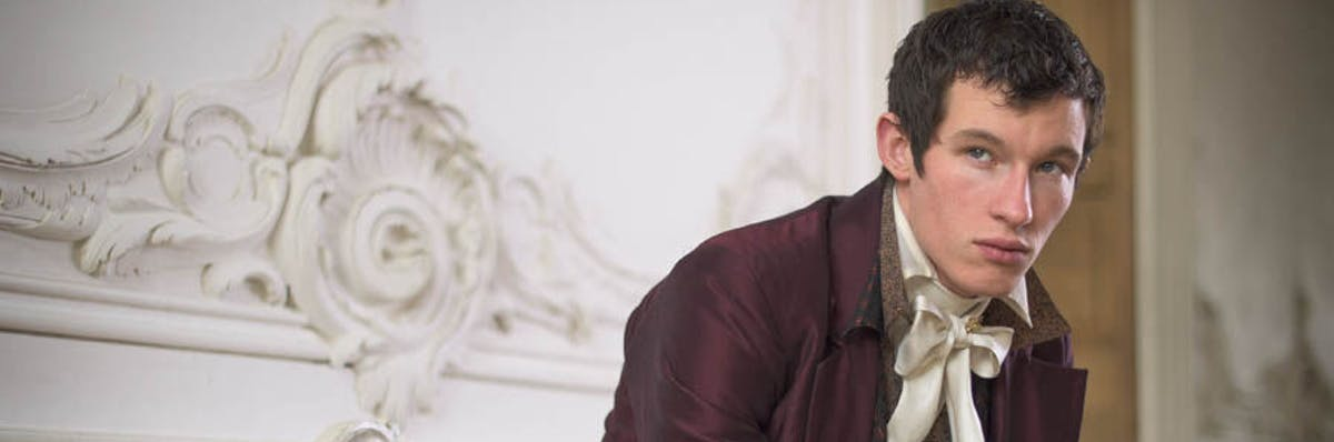 Callum Turner as Anatole Kuragin in 'War and Peace.'