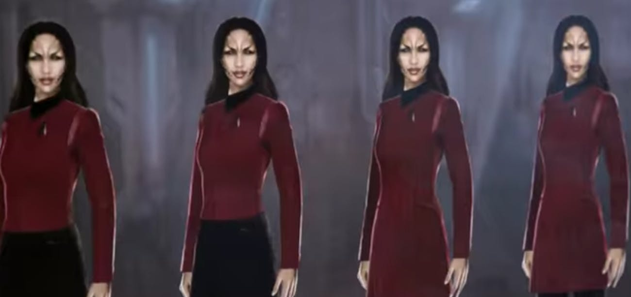 Production sketches show a 'Discovery' spin on classic TOS designs.