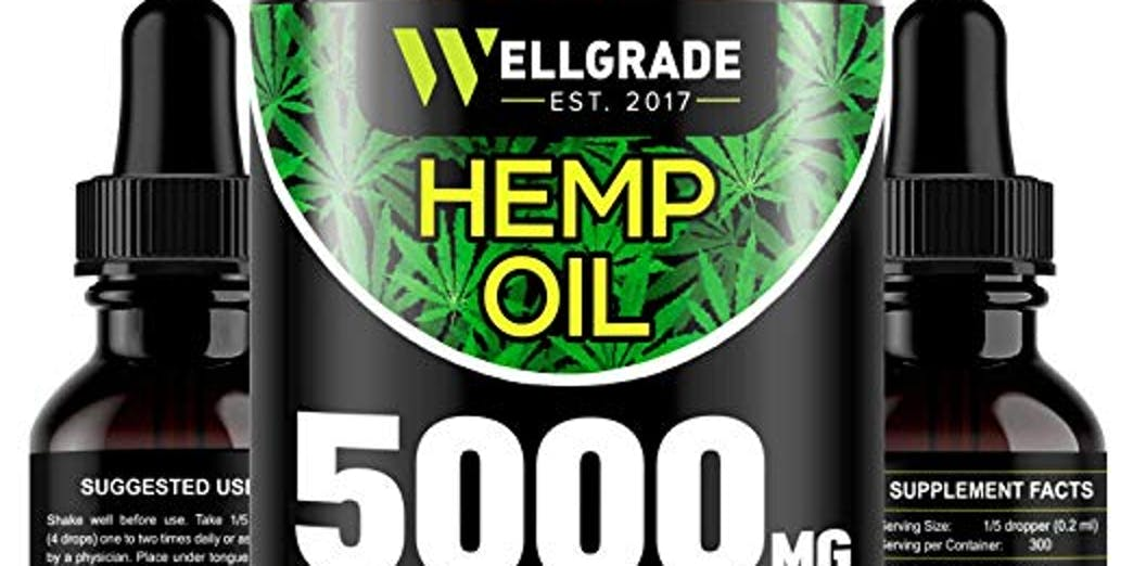 Hemp Oil for Anxiety Relief - 5000 MG
