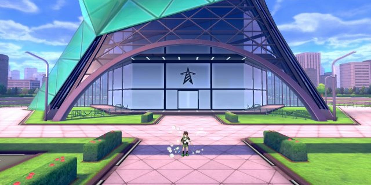 Battle Tower Close Up Pokemon Sword and Shield