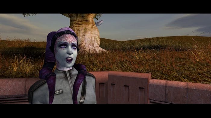 A redeemed Yuthura Ban, as she appears in 'Knights of the Old Republic.'