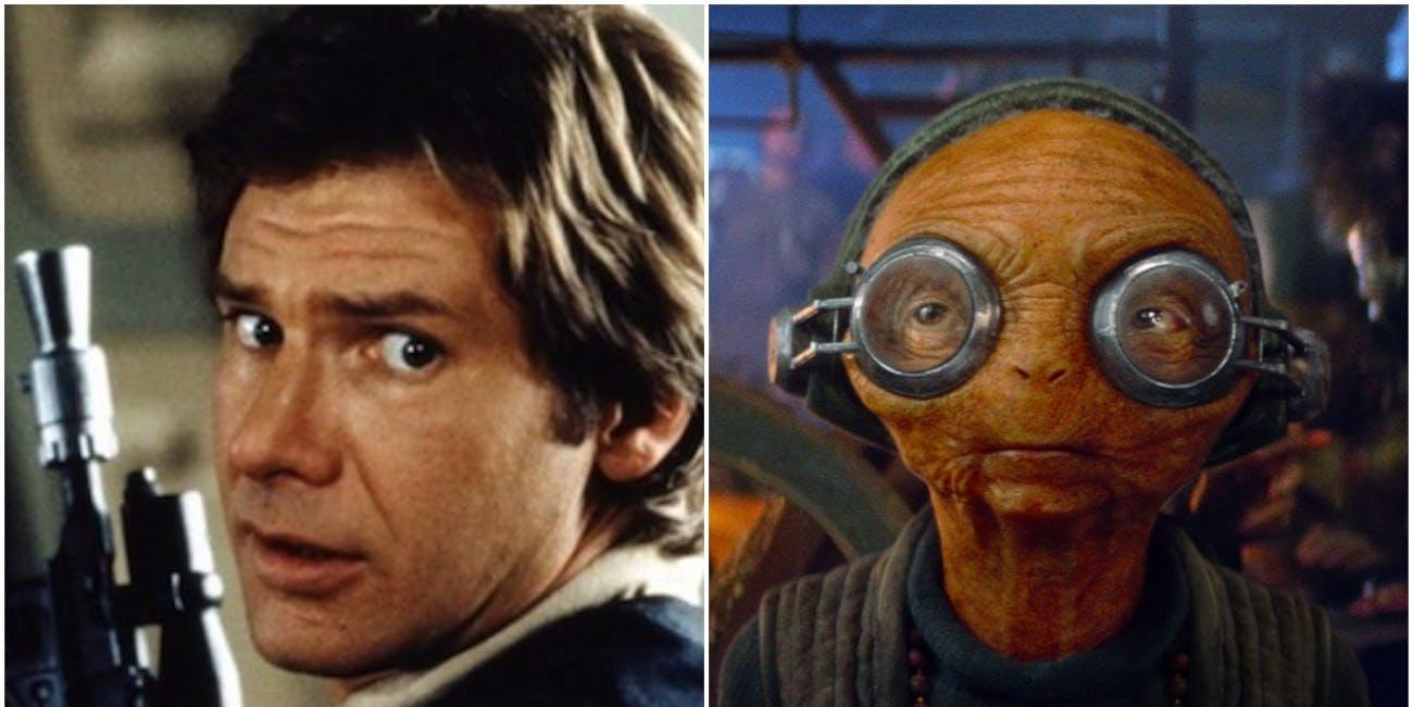 Han Solo standalone movie K-2SO C-3PO Maz Kanata Chewbacca