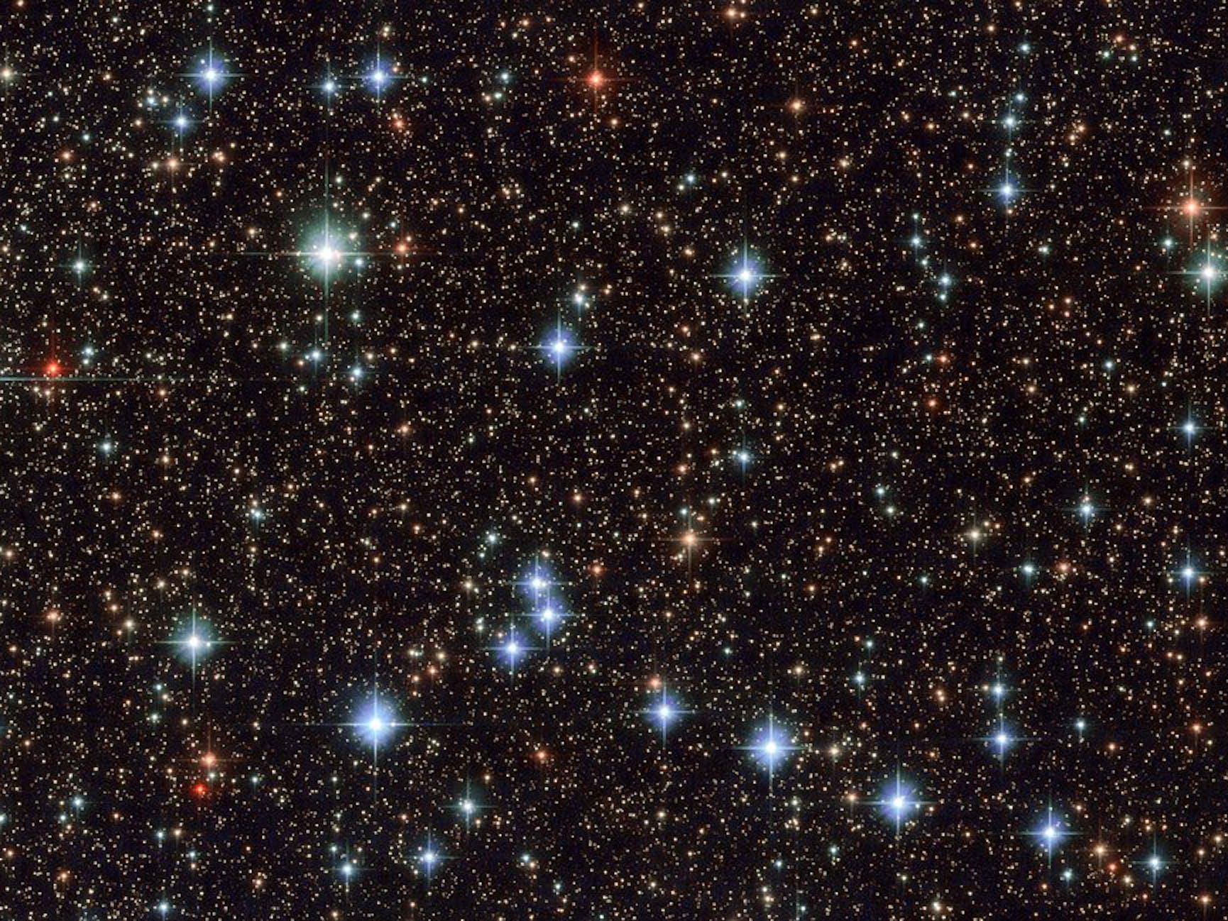 NASA Hubble ESA Sagittarius Stars