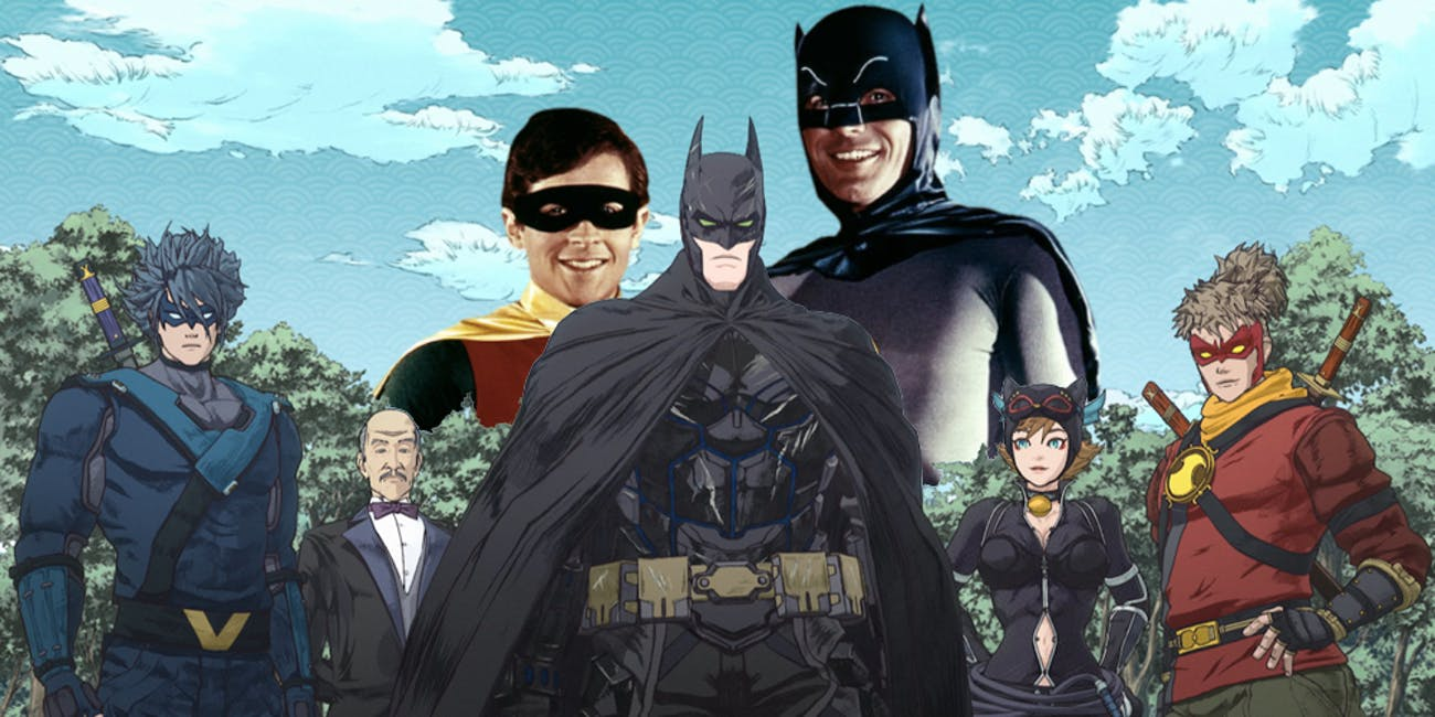 Batman Ninja Adam West