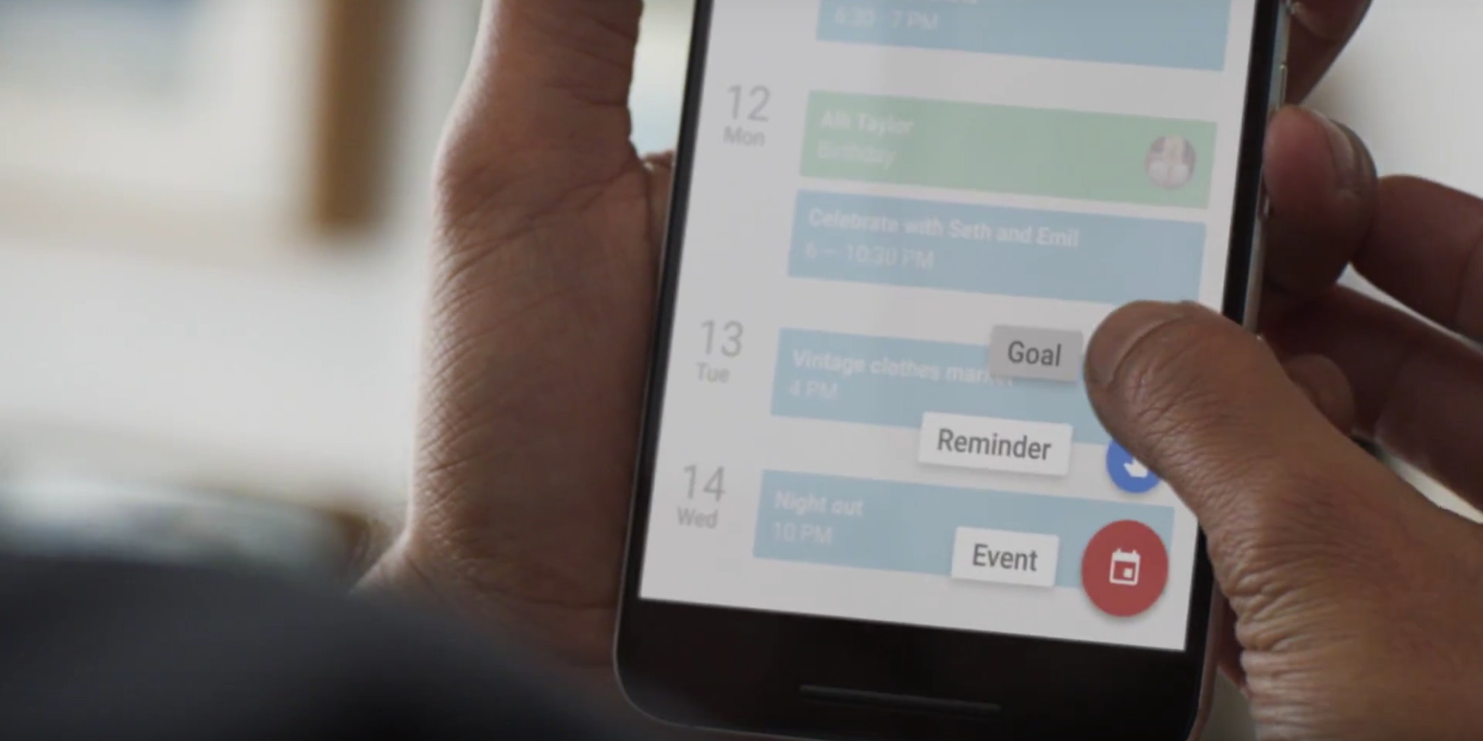 Google's Calendar Goals Falls Short of Actually Being #Goals