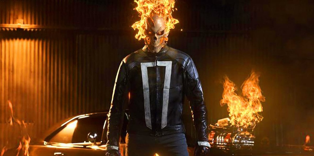 Gabriel Luna as Ghost Rider in Marvels Agents of SHIELD