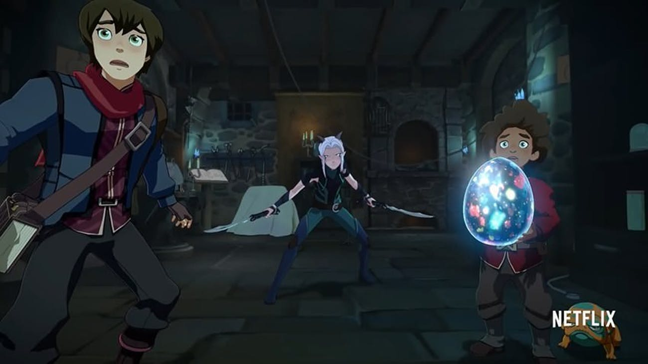 the dragon prince netflix