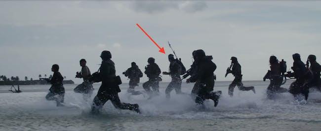 Alan Tudyk as K-2SO in 'Rogue One'