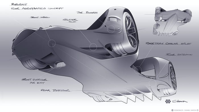 Robocar design sketches.