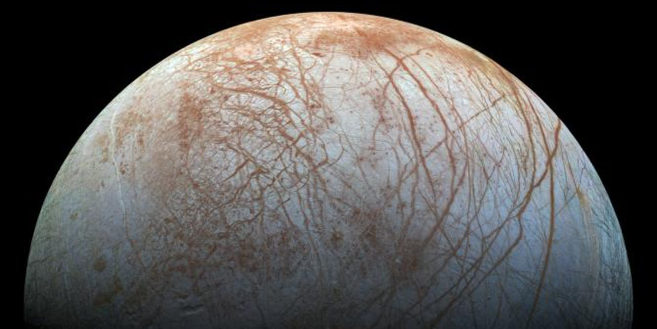 Scientists Discover Unexpected Substance Hidden Below Europa's Icy Crust