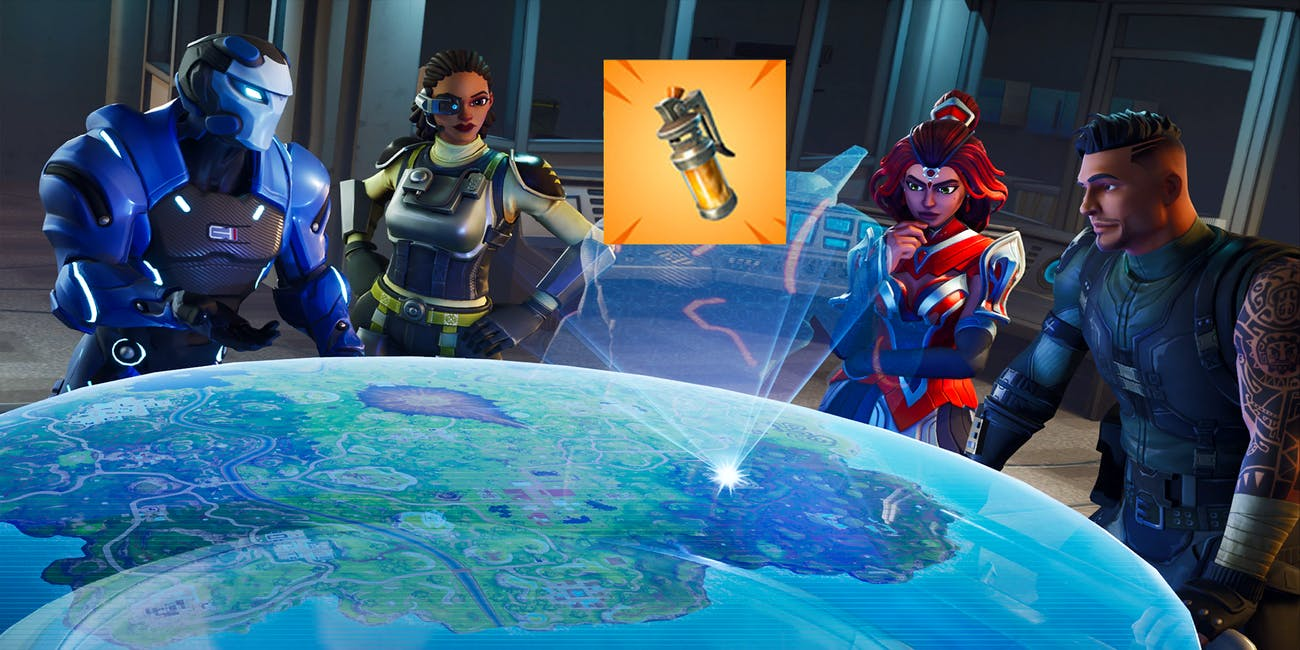 "There's a new ""Looming Threat"" in the form Stink Bombs in 'Fortnite: Battle Royale'."