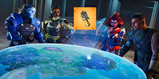 """There's a new """"Looming Threat"""" in the form Stink Bombs in 'Fortnite: Battle Royale'."""