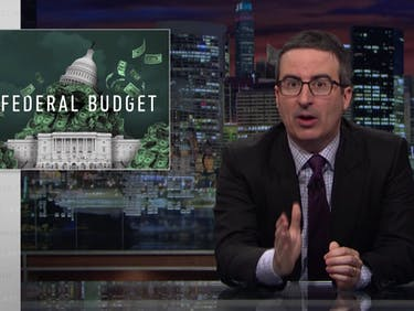 John Oliver: These 3 Trump Quotes Explain His 'Draconian' Budget