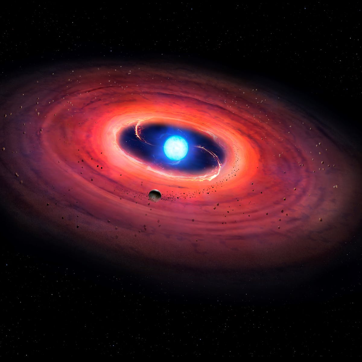 The autopsy of a dying star has revealed the potential for livable planets