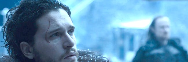 Jon Snow, King in the North in 'Game of Thrones'