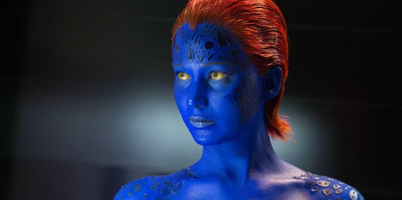 Jennifer Lawrence Mystique X-Men