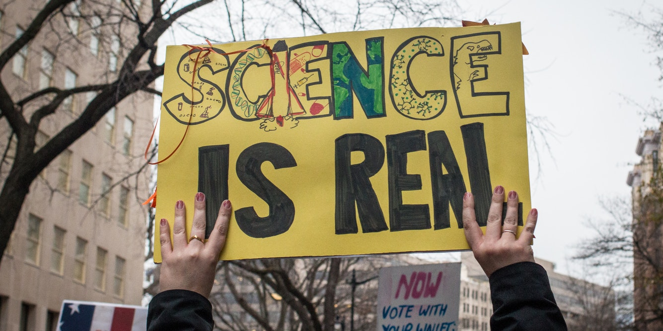 When scientists stand up, do they lose standing?