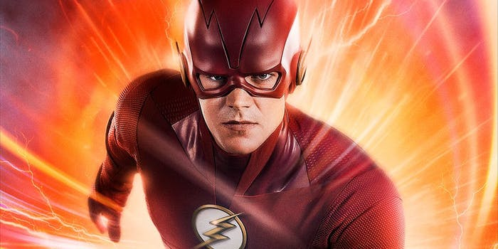 The Flash gets a new costume in Season 5.