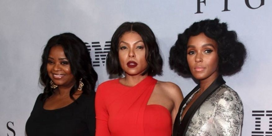 Spencer, Henson, and Monae at the premiere of Hidden Figures.
