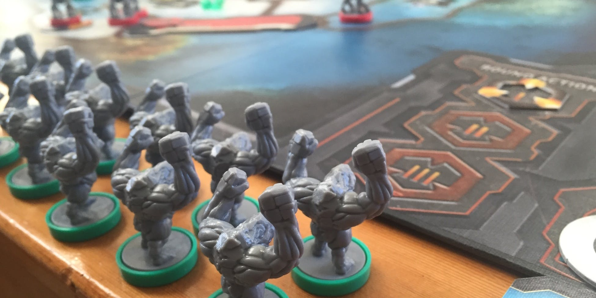 Cry Havoc is Portal Games' new sci-fi battle tabletop, in which Trogs fight humans fight space slugs.