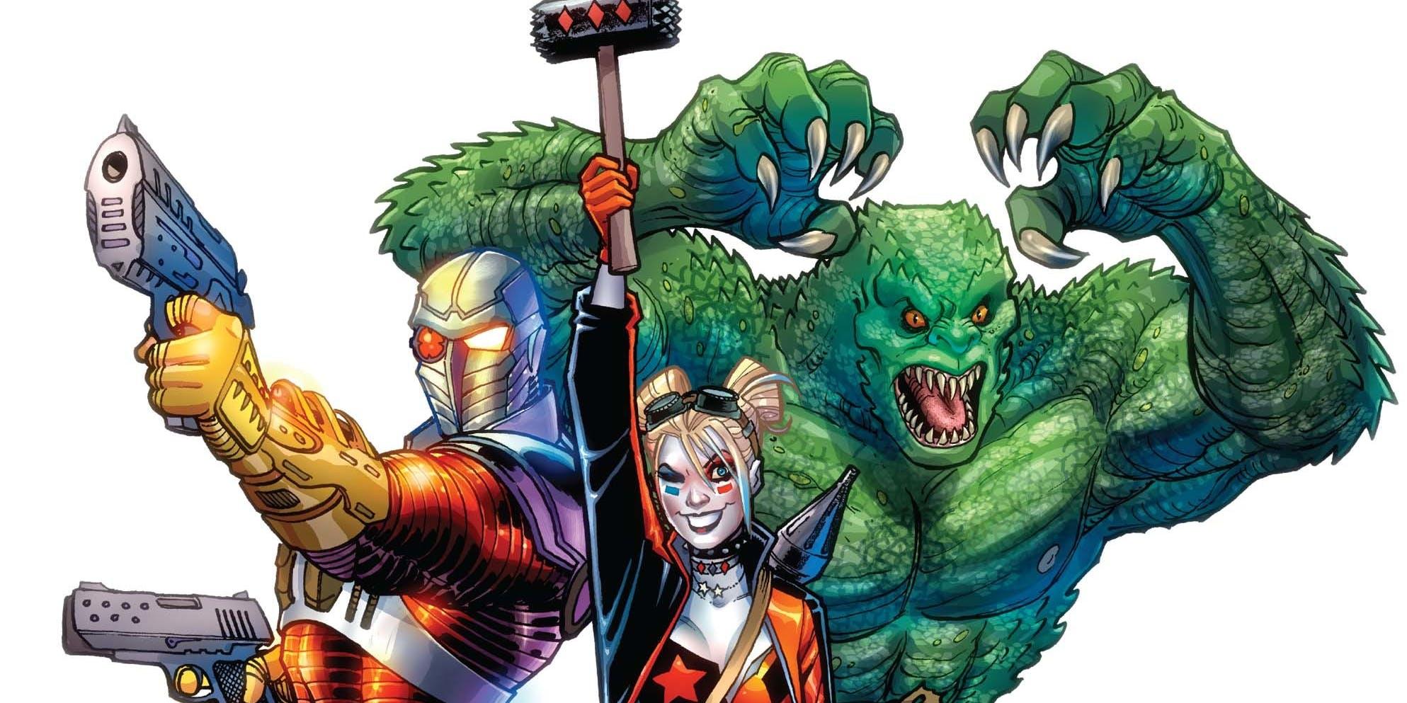 Harley Quinn Enrages Obama In DC's 'Suicide Squad' Rebirth