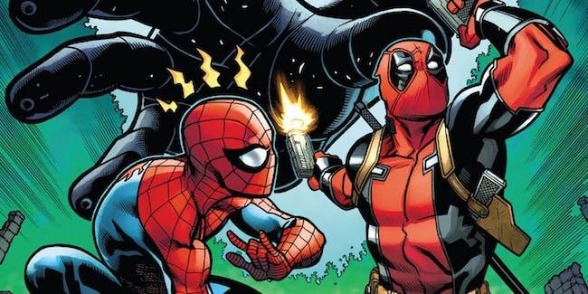 Cover for Marvel Comics' Spider-Man/Deadpool #13