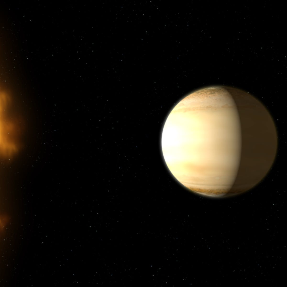 NASA Discovers Saturn-Like Exoplanet WASP-39b is Full of Water