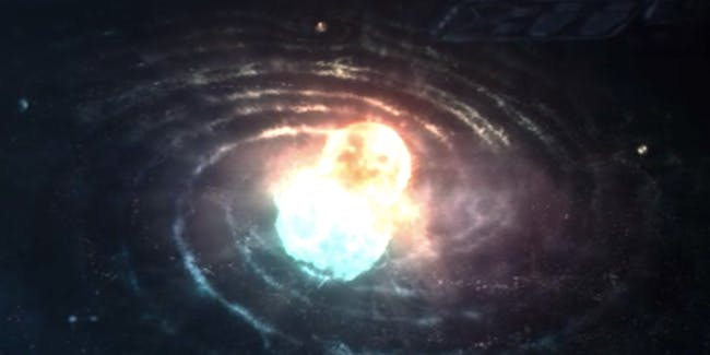 Binary star system in the final episode of 'Lost In Space'