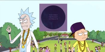 'Rick and Morty' co-creator is executive producing a sci-fi comedy rap concept album.