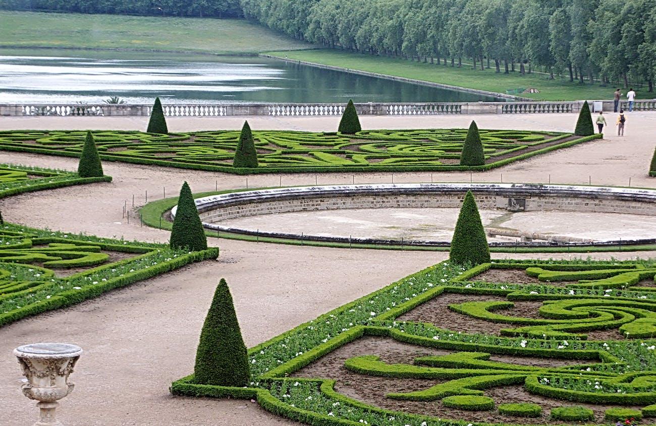 The Gardens of Versailles.