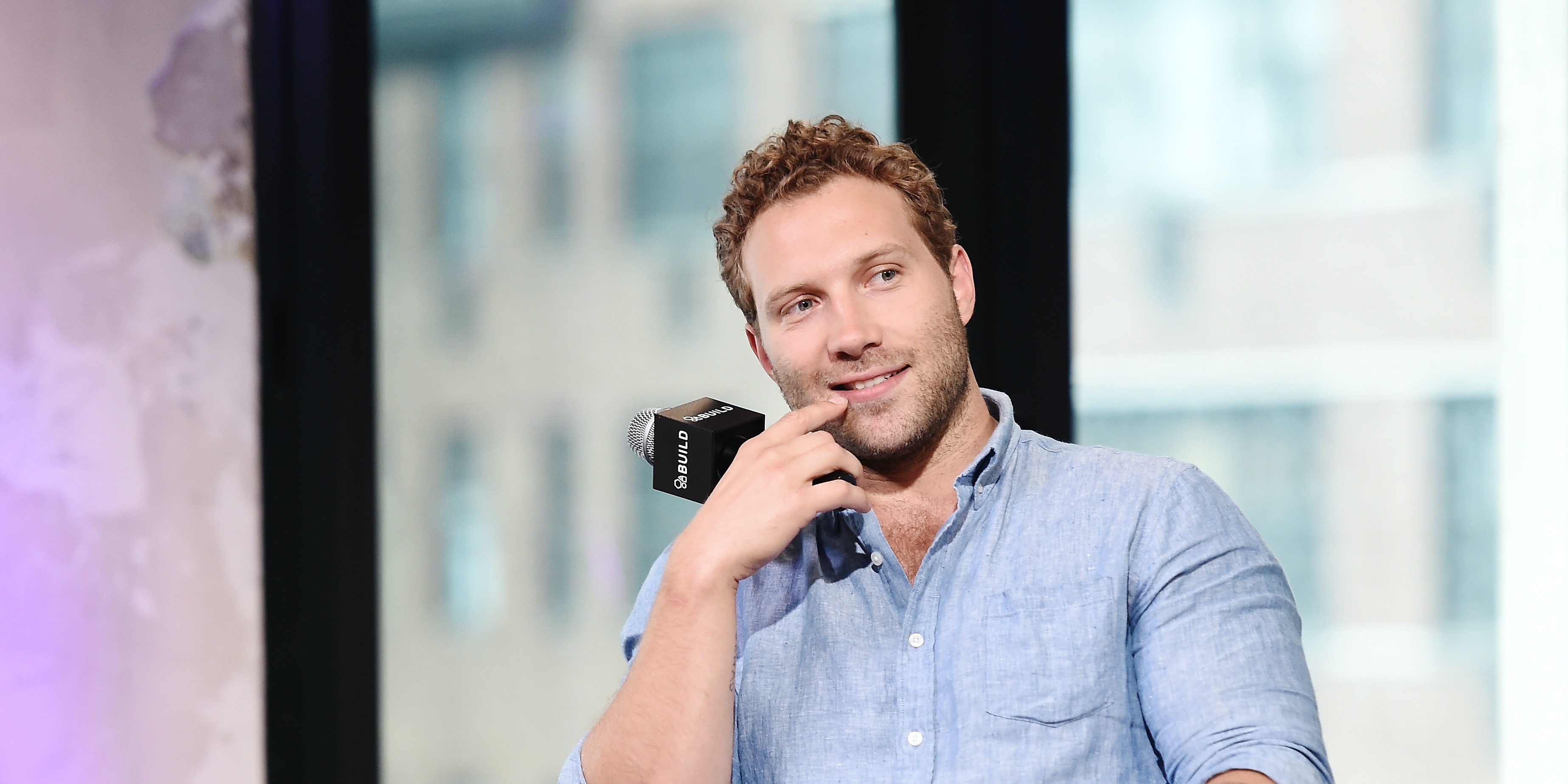 NEW YORK, NY - JULY 28:  Jai Courtney attends the AOL Build Speaker Series to discuss 'Suicide Squad' at AOL HQ on July 28, 2016 in New York City.  (Photo by Nicholas Hunt/Getty Images)