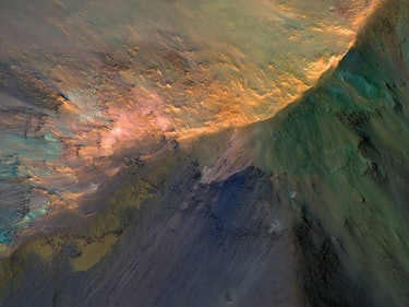 The Largest Canyon on Mars is a Stunning Gem in This New Image