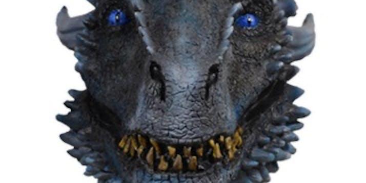 Game of Thrones White Walker Dragon Halloween Mask
